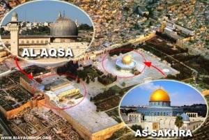 al aqsha dan as sakhrah